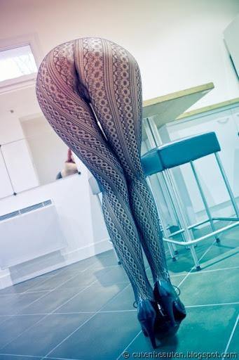 Be In Net Tights.